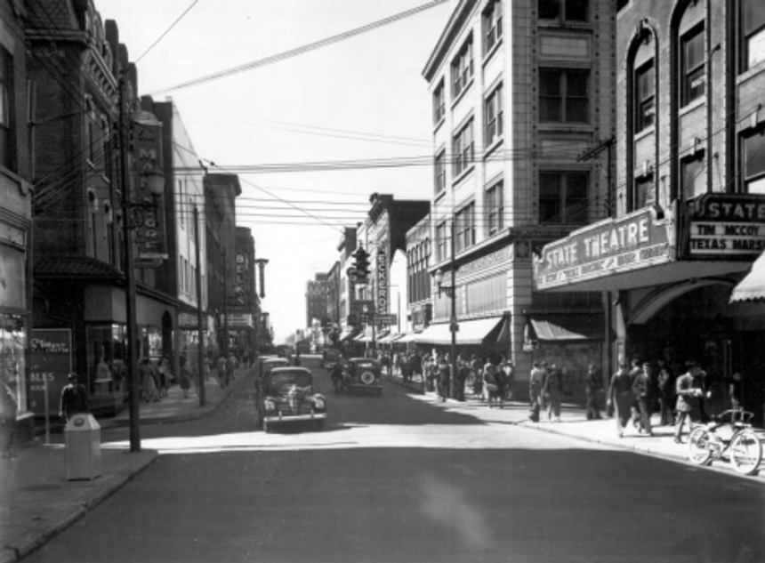 The Man Store downtown 1940w