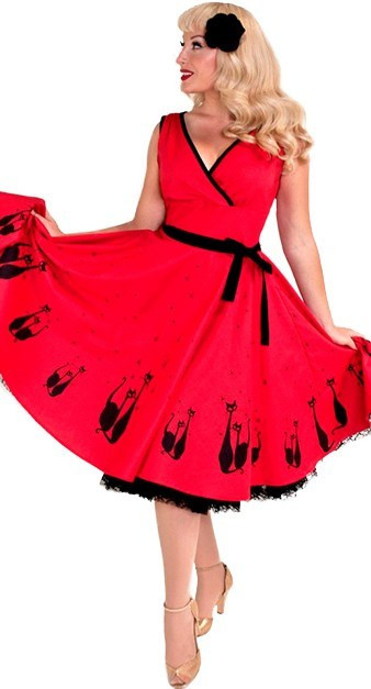 serena_dress_in_gato_red heart of haute