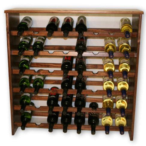 48 Bottle Pine Wine Rack