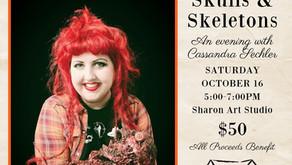 Skulls & Skeletons is on October 16th