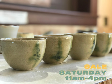 Reminder: Ceramics Sale is tomorrow!