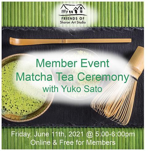 May 2021 Member Event_ Matcha Tea Ceremo
