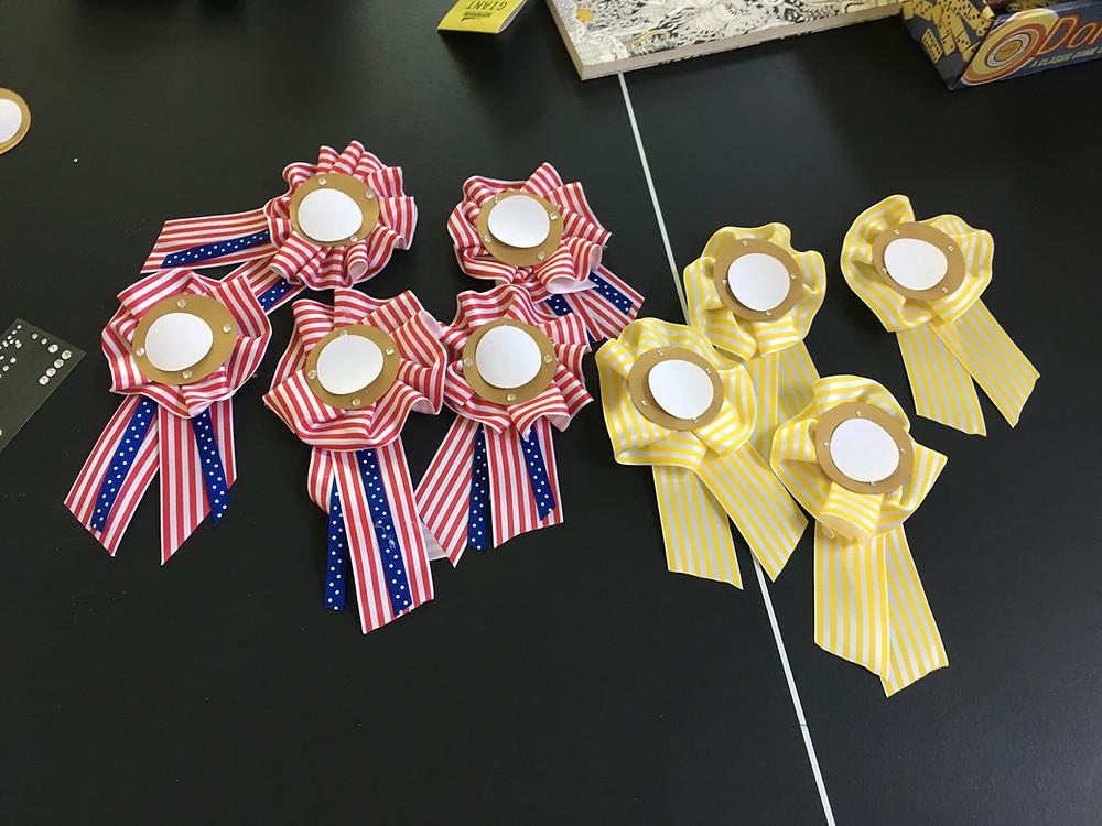 E V Starkey's prizes