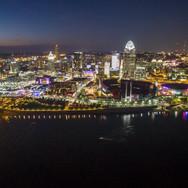 OHD - Cincinnati Skyline At Dusk