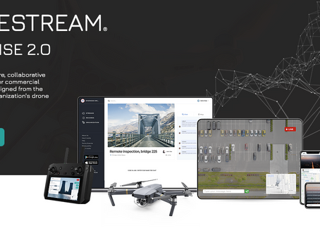OHIO DRONE PARTNERS WITH UK SaaS COMPANY DRONESTREAM AS THE US PREFERRED SUPPORT AND SALES PARTNER