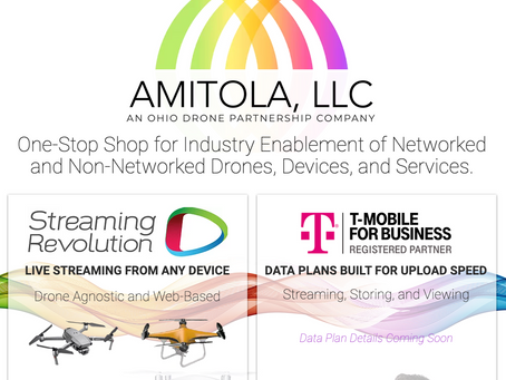 CINCY BASED START-UP PARTNERS W/ T-MOBILE TO BRING ADVANCED CONNECTIVITY AND LIVE-STREAMING TO UAV's