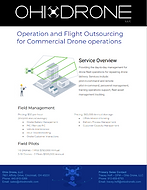 Ohio Drone Commercial Drone Operations Flyer