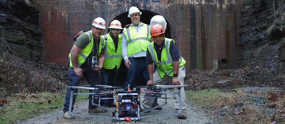 DRONE INNOVATION SUCCESS WITH NORFOLK SOUTHERN RAILWAY