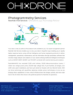 Ohio Drone Photogrammetry Services Flyer
