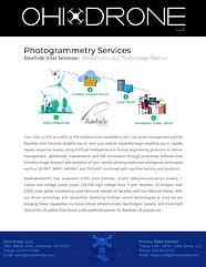 Ohio Drone Photogrammetry Services Flyer