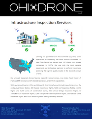 Ohio Drone Infrastructure Inspection Services Flyer