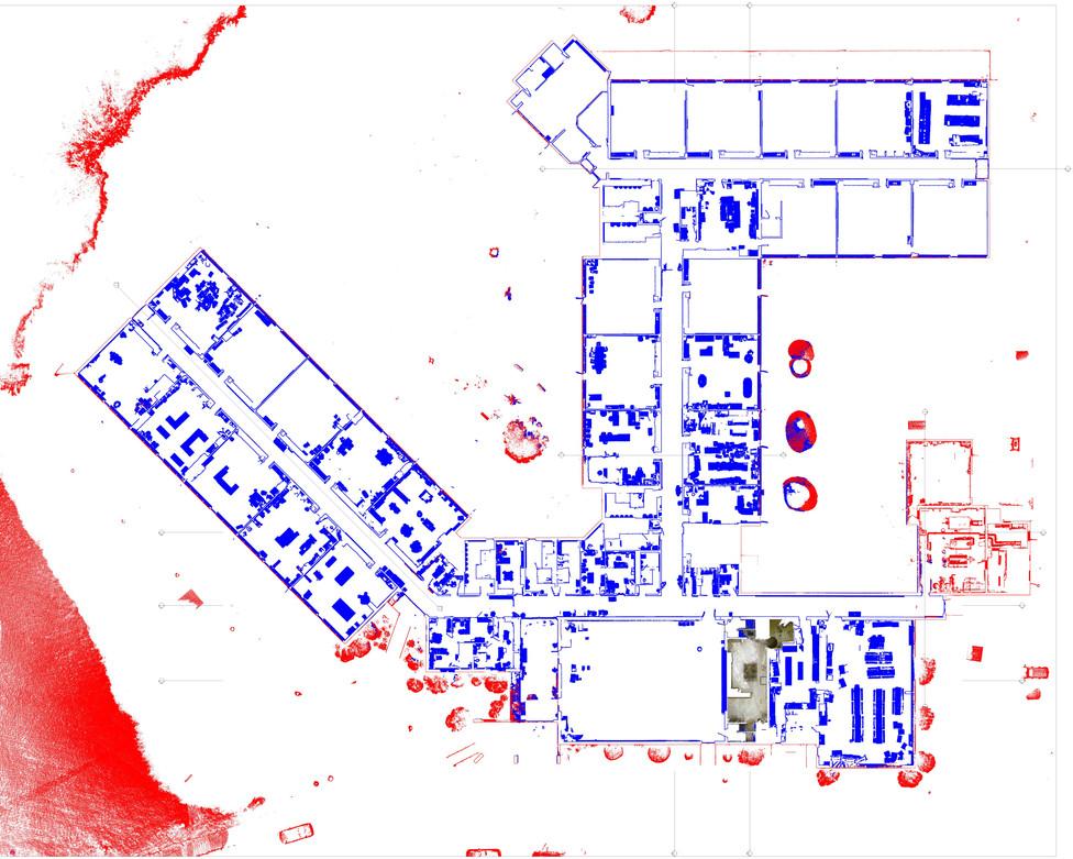 Scan Trace Floor Plan