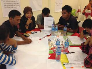 NXplorers training in Bintan Indonesia