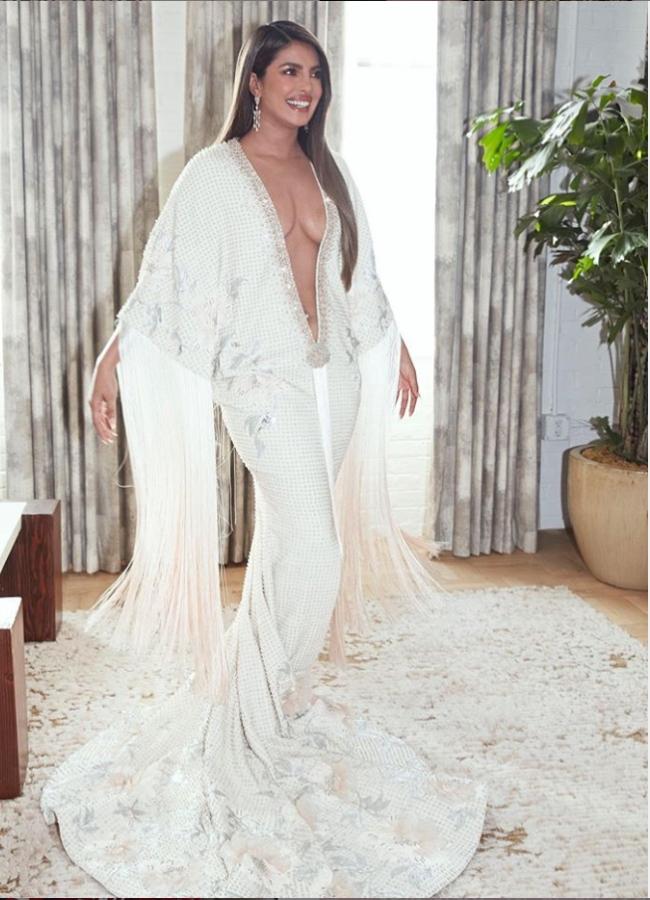 Priyanka Chopra Grammy Dress