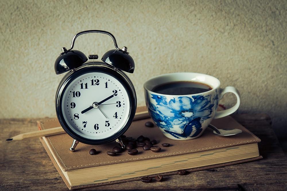 Alarm Clock and Tea