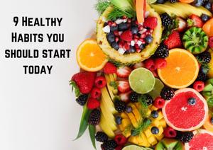 Healthy habits, healthy breakfast