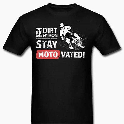 Dirt N' Iron Moto-shirt