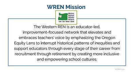 WREN Mission Statement