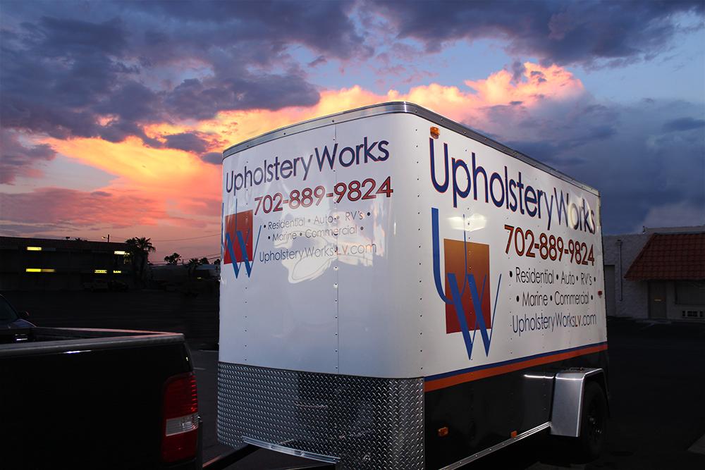 Upholstery Works Trailer