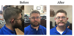 Before After Shave