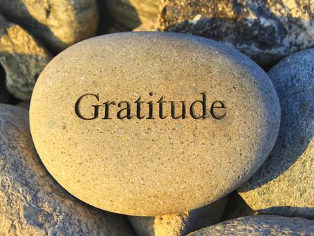 Donner et recevoir. La Gratitude