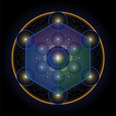 the-merkabah-metatrons-cube-vector-id102