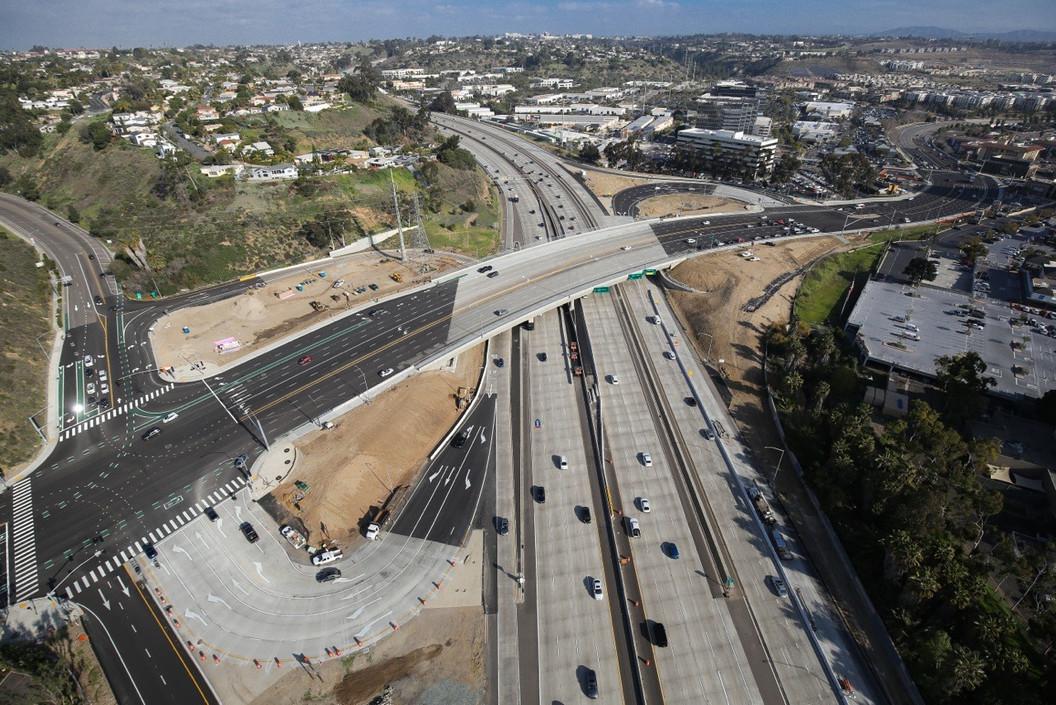 SR-63/Friars Road Interchange, San Diego, CA