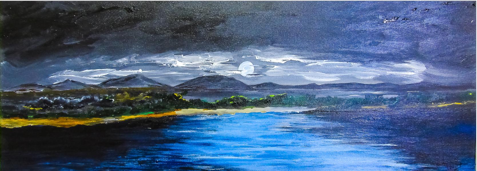 Lago ao Luar