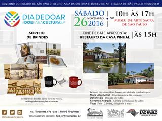 Dia de Doar - Museu de Arte Sacra