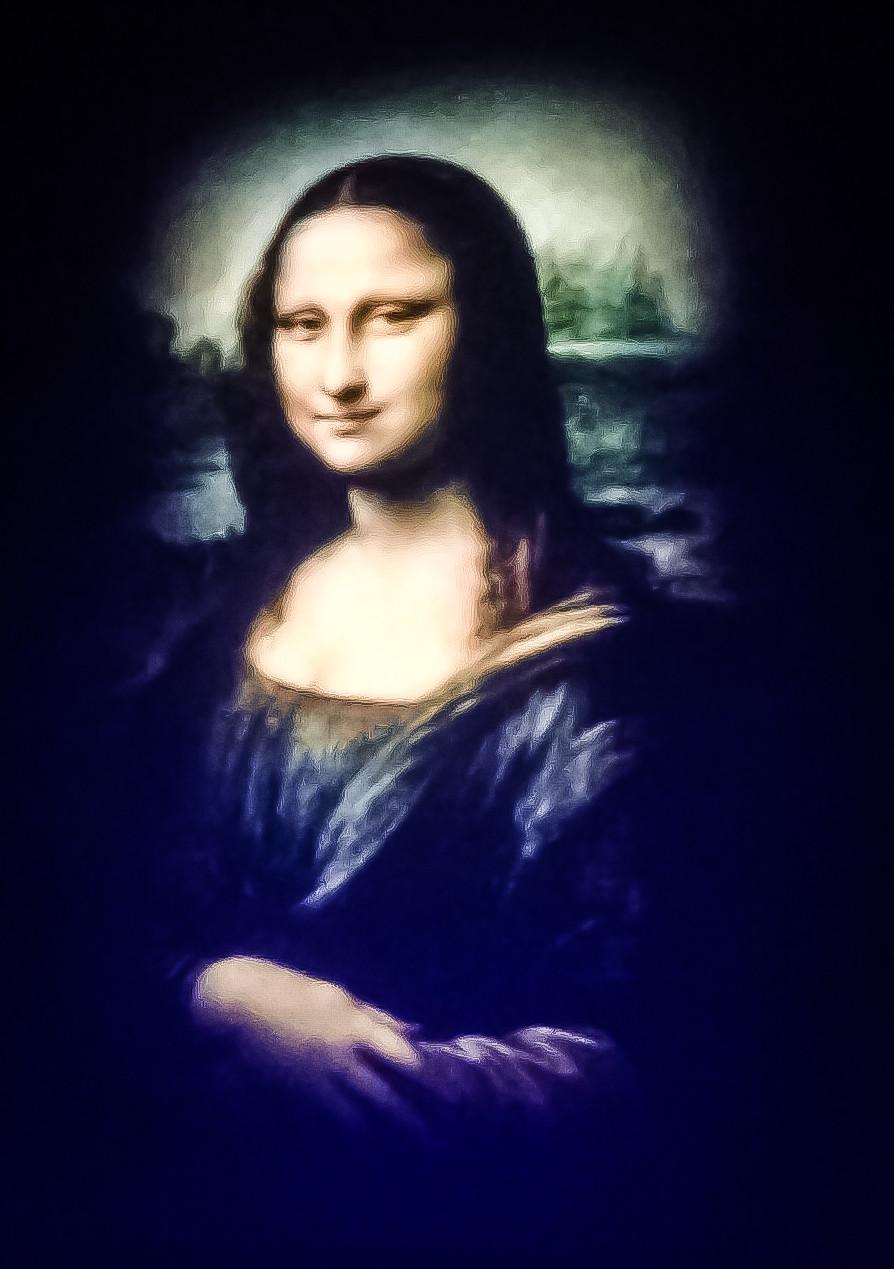 Mona Lisa ,exposição de arte
