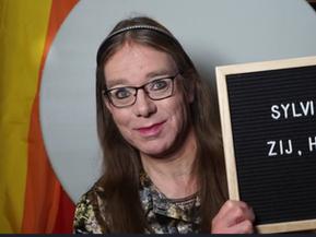 Transgender Visibility Day Portret - Sylvia Gerrits
