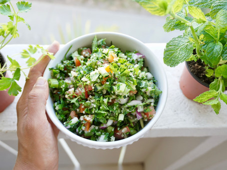 Tabbouleh   Fresh, Simple and Delicious