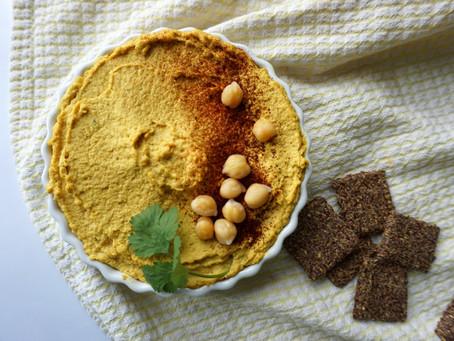 Golden Turmeric Hummus Recipe