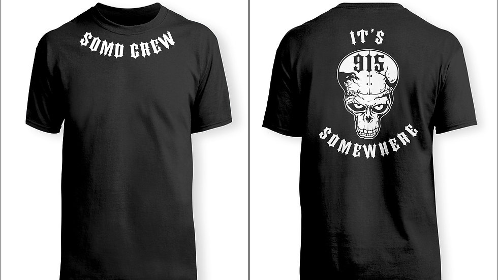 SOMD Crew It's 915 Somewhere T-shirt