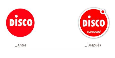 Cencosud actualiza la marca Disco