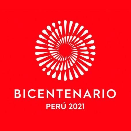 Logo del Bicentenario en Perú