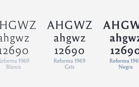 Reforma, tipografía para UNC