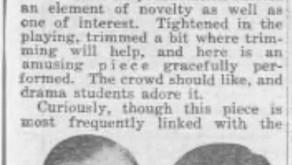 A Players Flashback: 1928