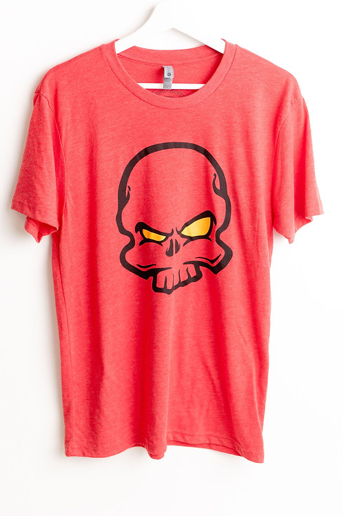 Caution Skull Male Tee