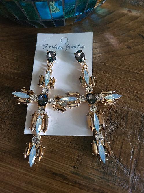 Nightingale Cross earrings