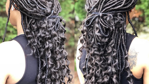 Individual Crocheted Faux Locs