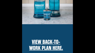 Barbicide BACK-TO-WORK Plan | CORVID19