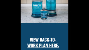 Barbicide BACK-TO-WORK Plan | CORVID19