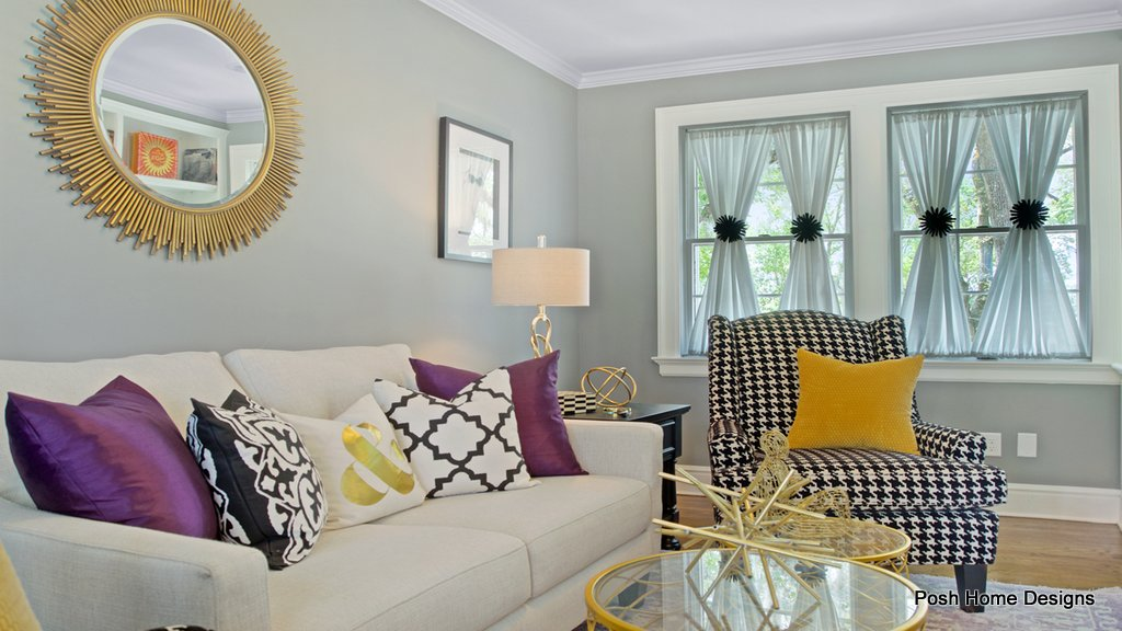Glam Master Suite Sitting Room