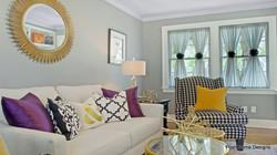 Glam Master Suite Sitting Room