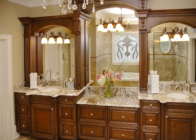 Traditional Luxe Vanities