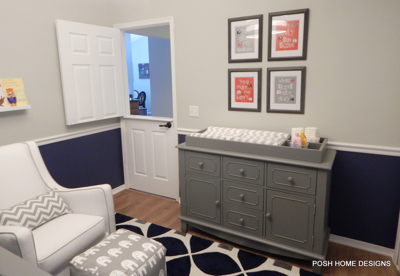 Evan's Nursery - Dutch Door