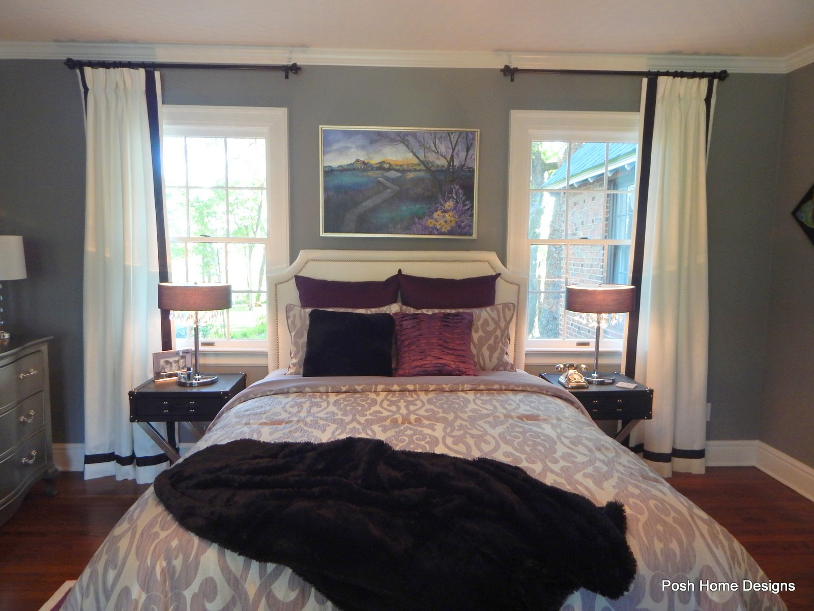 Glam Master Bedroom Suite