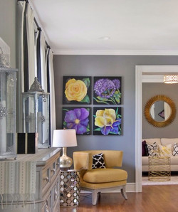 Glam Master Bedroom Suite