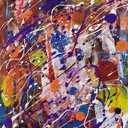 Acrylic on Canvas (30 x 45 cm)